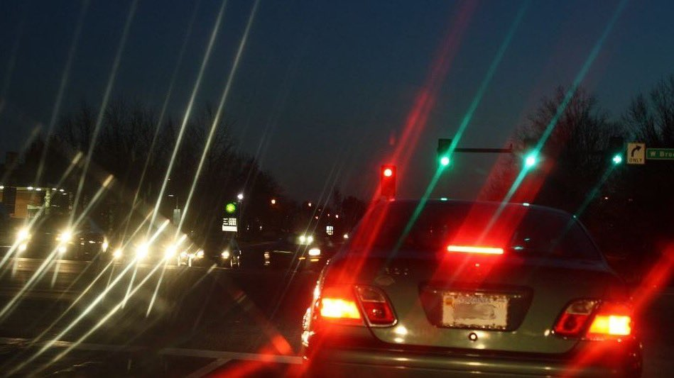 Driving at night with astigmatism