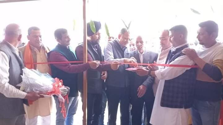 Mr Jasbir Singh Sarpanch has started tile manufacturing industry at Gagwal, Kathua #Inauguration