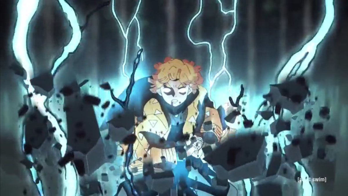 """Scenes From the Next  #DemonSlayer   """"You Must Master a Single Thing""""  Saturday Night @ 3:30AM. Only #Toonami, On AdultSwim"""