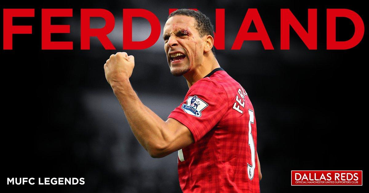 @rioferdy5 #Ferdz Appearances: 455 Goals: 8 #MUFC #DallasReds #UTFR #MUFCLegends 🔴⚪️⚫️