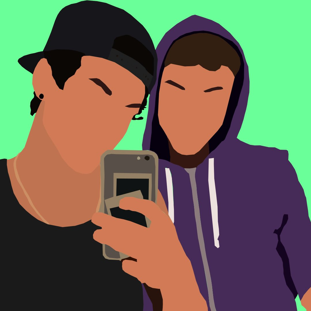 i made a drawing of grayson and ethan PLSSS tag them 🧍💅😀  @EthanDolan @GraysonDolan #graysondolan #ethandolan #drawing