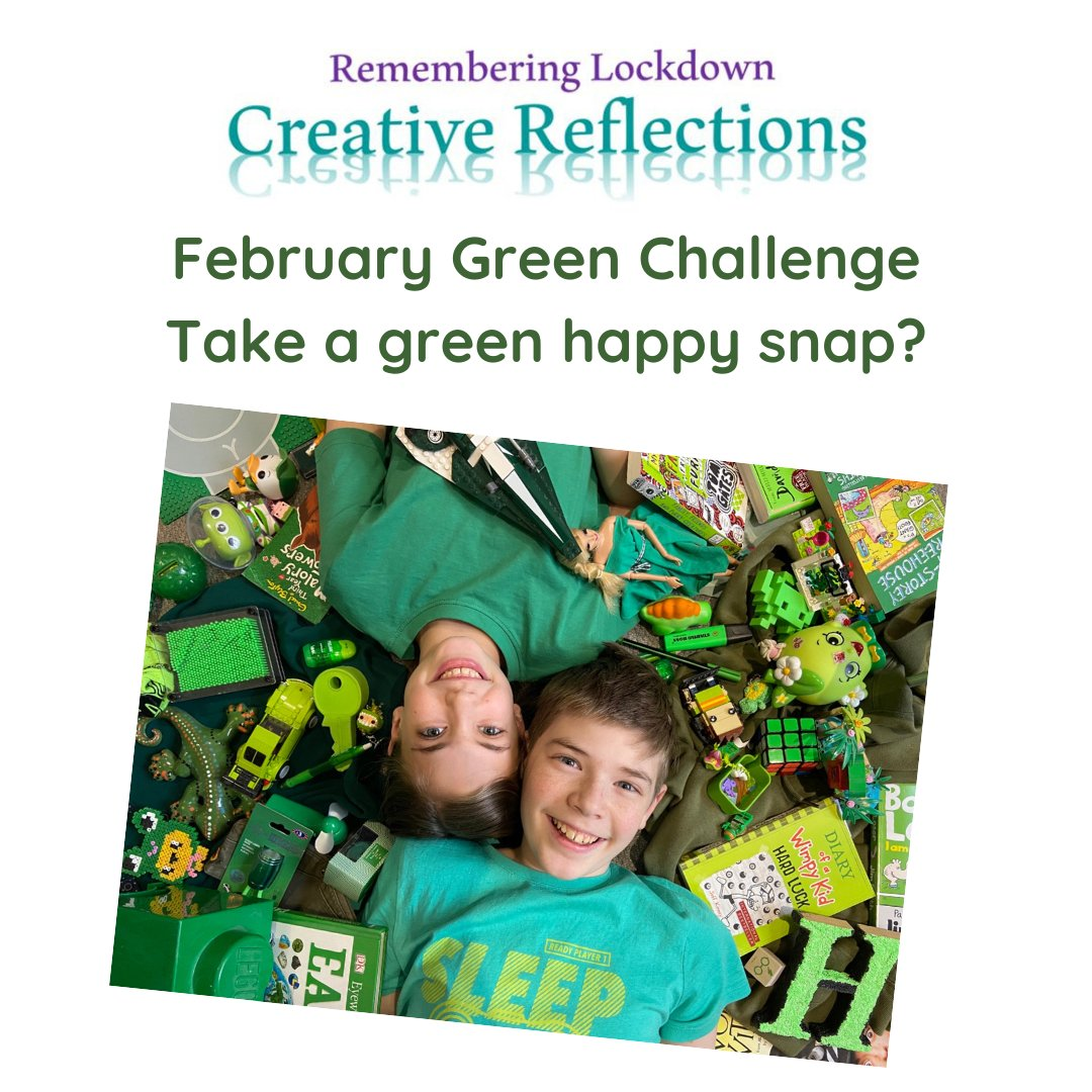 Still a few days left of February, so there is still time to go green! Get creative, send us your art work.  #green #art #create #creative #design #toys #books