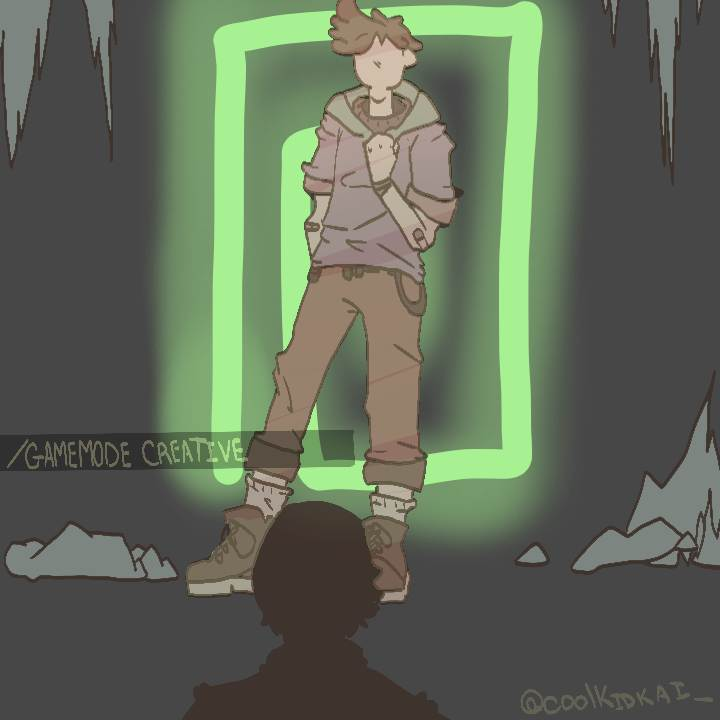 """""""ill see you in a different timeline."""" . . RTS, likes and follows apricated!  (untag when replying) [ #karljacobsfanart #TALESFROMTHESMP #dreamsmp  @honkkarl ]"""