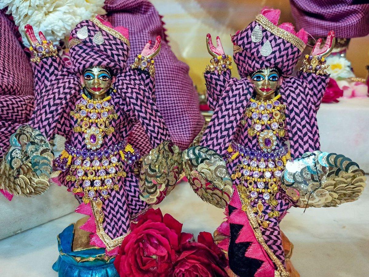 #Gaura #Nitay #deities (called as #Nitay #Mayapur #Chandra) #Darshan,  #Iskcon #Aligarh #Gita #Gyan #Mandir, #Harduaganj. 26.02.2021 Photography courtesy of Mannraj Prabhuji. #APNA #SAHAYOGI #PREMI #PARIVAR. #अपना #सहयोगी #प्रेमी #परिवार |