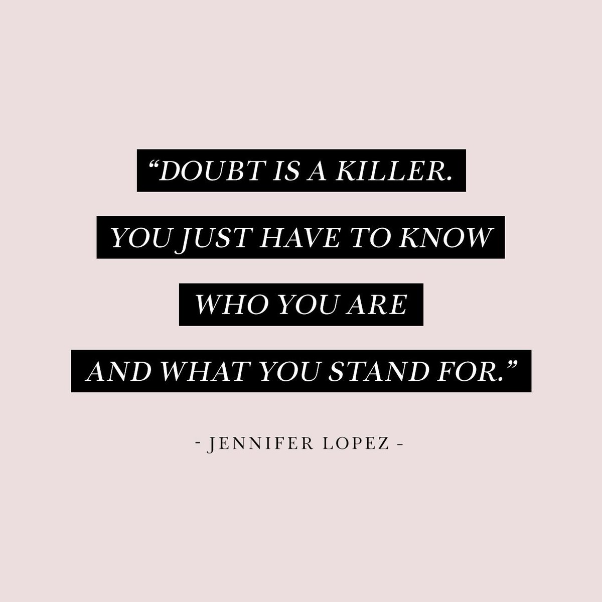 Don't doubt. Believe.    #empoweringwomen #femaleempowerment #empoweringquotes #motivationalquote #womeninbusiness #mindsetiseverything   #doubtisout #doubtisthekillerofdreams #jloquotes #jenniferlopez #jlo #JLoJenniferLopez #jlosuperbowl #inauguration