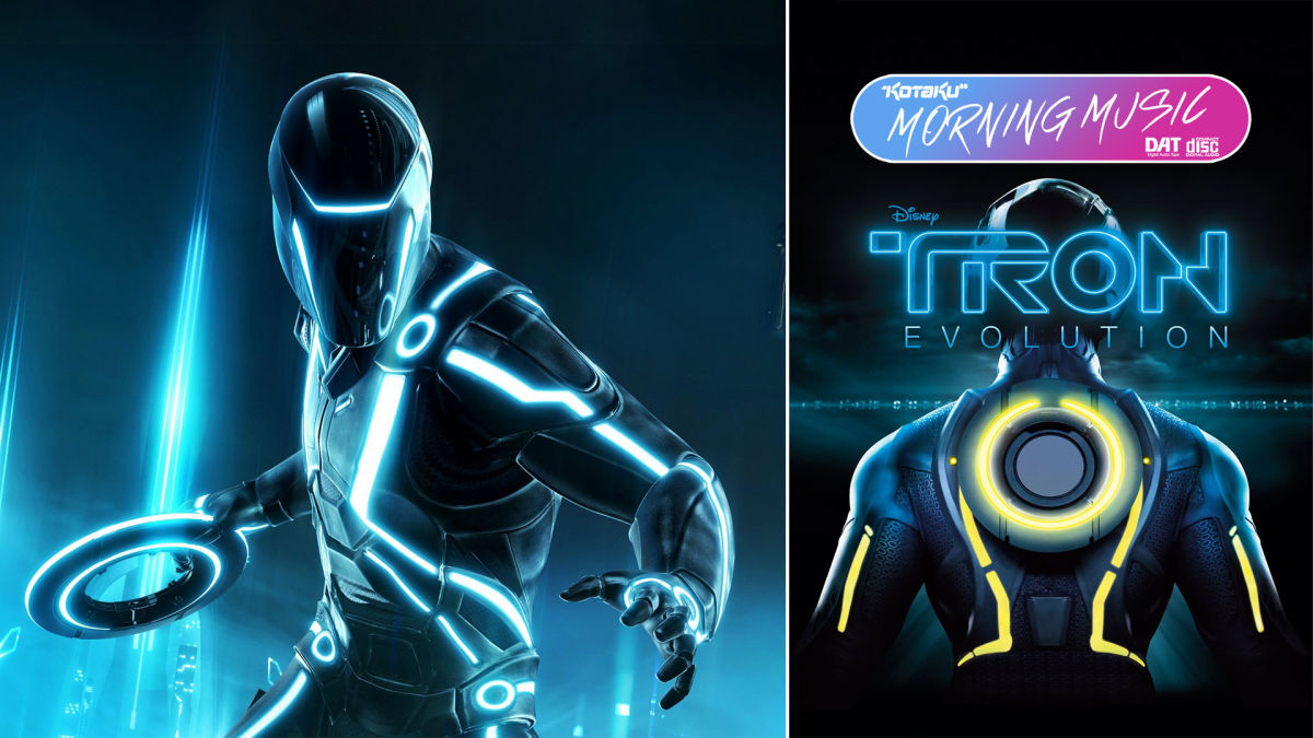 Tron: Evolution's Hard Electronica Holds Its Own With Daft Punk