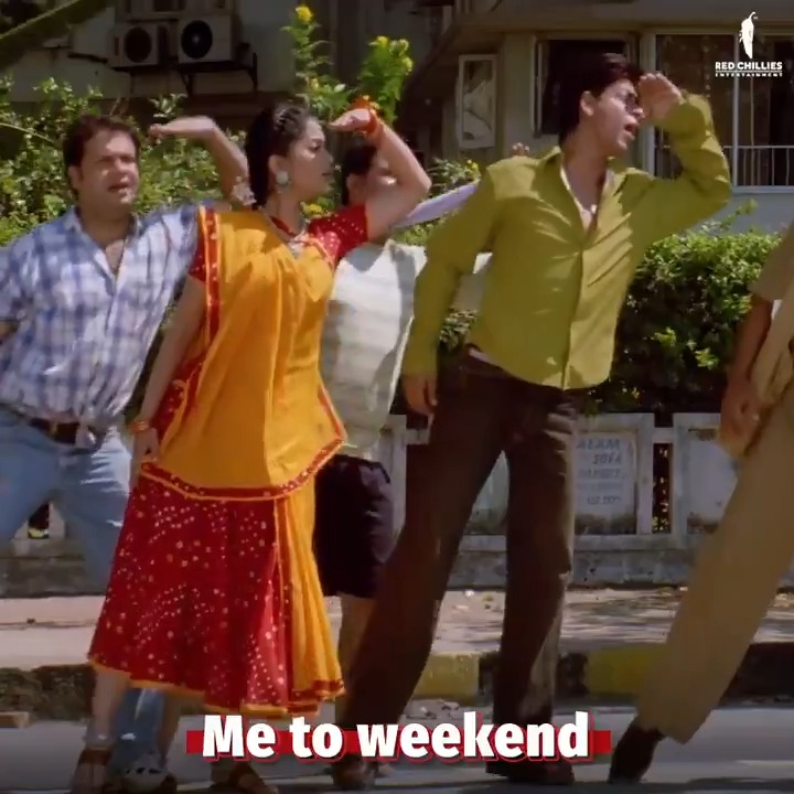 Weekend! Where you at?👀 We got no chill!  #ChalteChalte