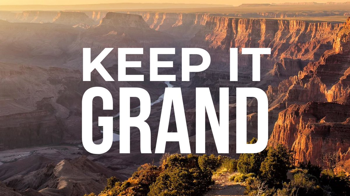 Today @HouseDemocrats are voting on a package of bills that includes my #KeepItGrand effort to ban new mining around @GrandCanyonNPS.  These bills fight the #ClimateCrisis and protect 1.5 million acres of #PublicLands. Americans want to #KeepItWild for future generations.