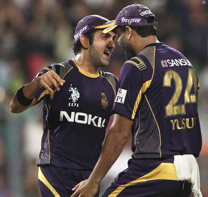 A gem of a person & a true match winner. It was my privilege to play for both India & KKR with you. Take a bow @iamyusufpathan! Lots of love!