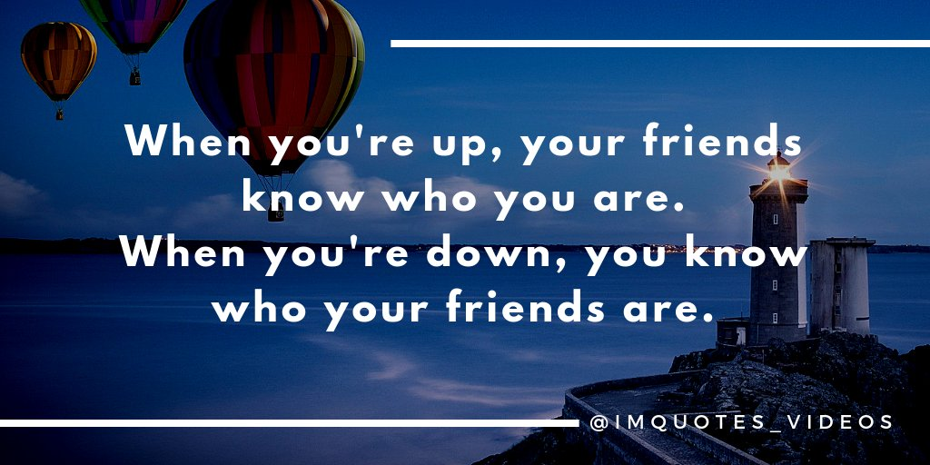 Replying to @IMQuotes_Videos: True friends are priceless.  #FridayMotivation