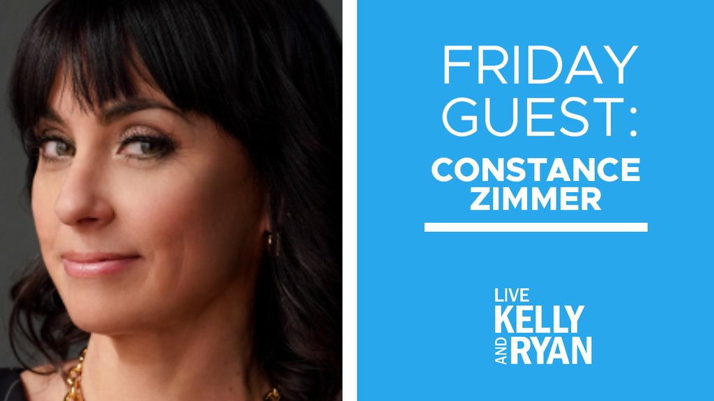 Good morning, bb. Grab some coffee and watch @ConstanceZimmer on @LiveKellyRyan today! She'll be talking about all things #GoodTrouble.