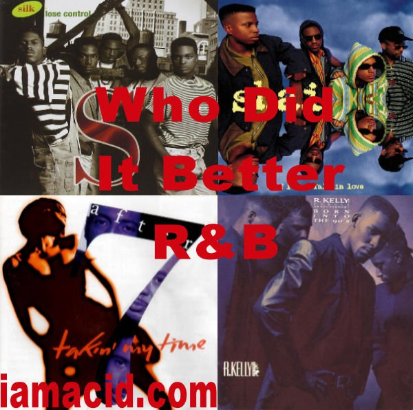 Who had the better album ? Silk, Shai @After7Music or @SupportRkelly and Public Announcement #WDIB #QOTD #IAMACID #ACIDDA1 #WHODIDITBETTER #QUESTIONOFTHEDAY #ADMIRATION #SPLASH #ACID2779