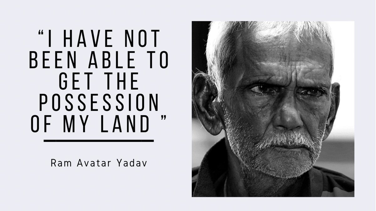 Ram Avatar Yadav, an 80 year old man was declared dead by his family and was denied the possession of his own land. Watch his interview to know how he is fighting to stay 'alive' :  #Kaagaz #CommonMan #MritakSangh