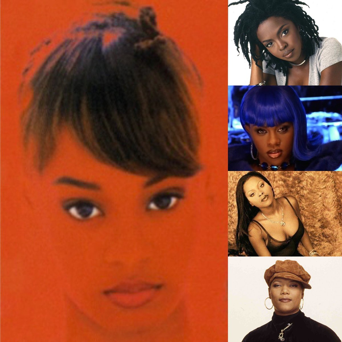 The Queens of HipHop never get the homage they deserve. These are my most influential. If you know, you know. #BlackGirlMagic #BlackHistoryMonth