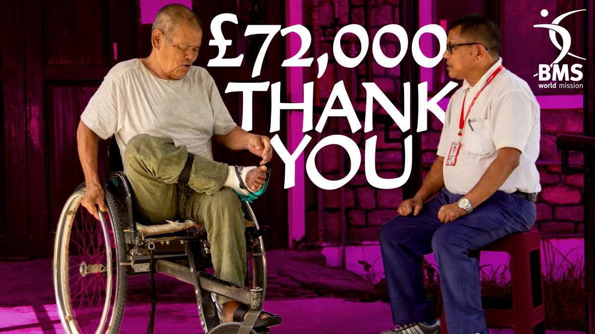test Twitter Media - You did it!  You raised over £72,000 for BMS'  Christmas Appeal!  All we can say is a HUGE thank you! You're helping to treat people with leprosy and changing lives. And this work wouldn't have been possible without your incredible generosity.  THANK YOU from all of us at BMS. 💜 https://t.co/RM7oMttd5q