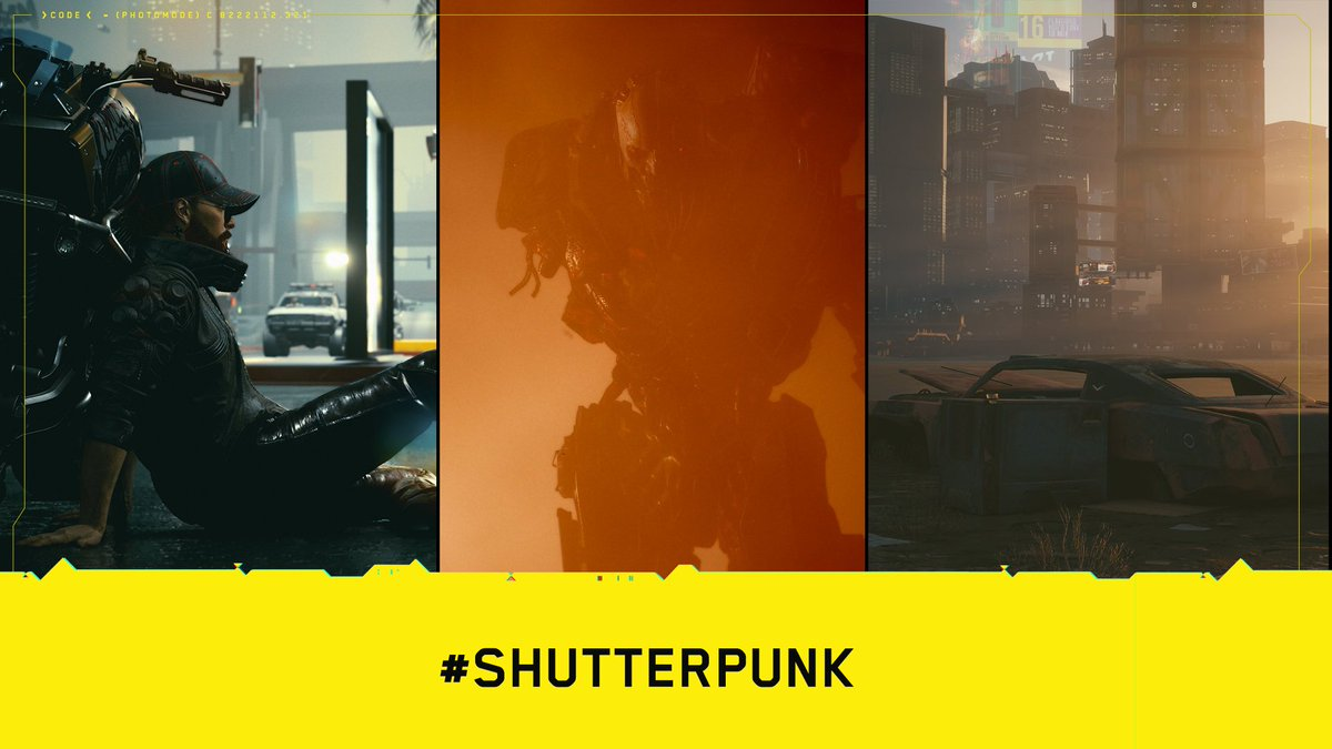 Turns out Night City is full of talented photographers! We were blown away by the quality of the screenshots and impressed how you were able to tell a whole story in only one frame.   Here are the results of our #Shutterpunk2077 Photo Mode Contest! https://t.co/ZCWkvoKF5j
