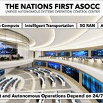Image for the Tweet beginning: Autonomous Systems Operational Control Centers