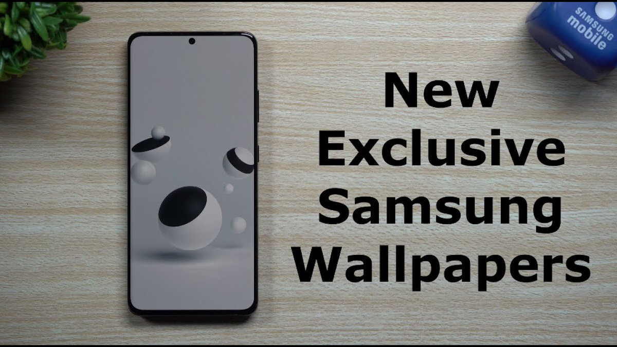 Sharing some Exclusive Samsung Wallpapers. How to find them,  download them, activate them...  Video:   #Samsung #GalaxyS21Ultra #GalaxyS21 @SamsungMobileUS #OneUI3