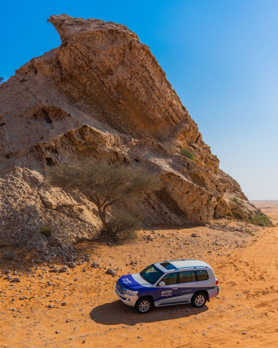 لن تدرك الحجم الكبير والفعلي لهذه الصخور حتى تأتي وتنظر عن قرب! قم بزيارة موقعنا الإلكتروني (الرابط في صندوق الوصف) لتتعلم المزيد عن الصخور الأحفورية والأشياء الأخرى التي يمكنك رؤيتها خلال زيارتك.  #الامارات #الشارقة #جوائز #سحب #ربح #UAE #Sharjah #mleiha