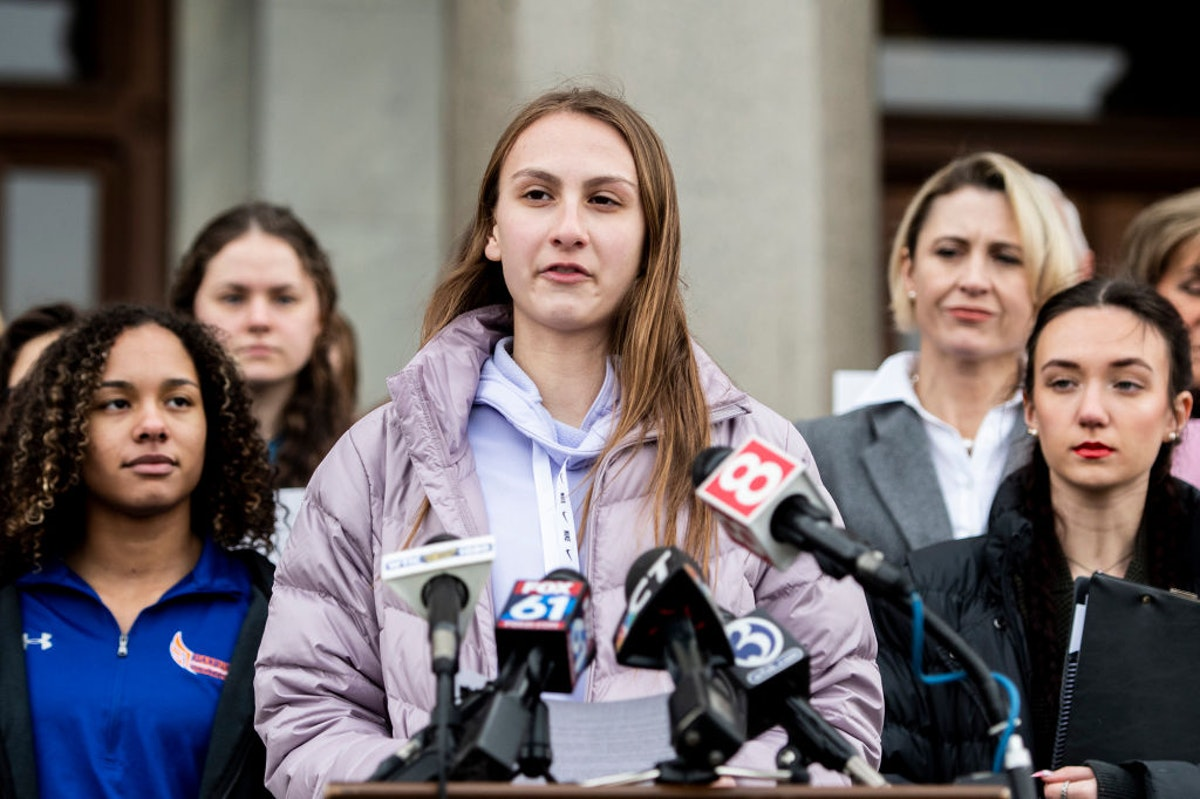 'These Biological Males Are Just Taking It Away From Us': High School Girl Athlete Blasts Biden Administration For Abandoning Her Lawsuit