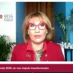 Image for the Tweet beginning: .@UCLG_Saiz Secretaria General de CGLU: