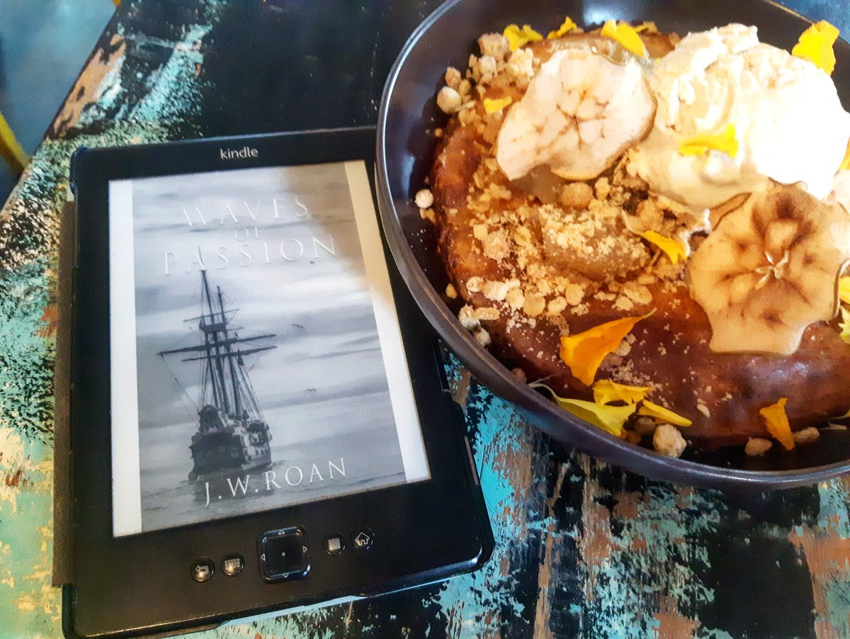 Good Morning How are you on tho beautiful day? . #apple #banana #crisp #edibleflowers #kindle #book #ebook #morning #goodmorning #light #sun #spring #relax #romance #romantic #fantasy