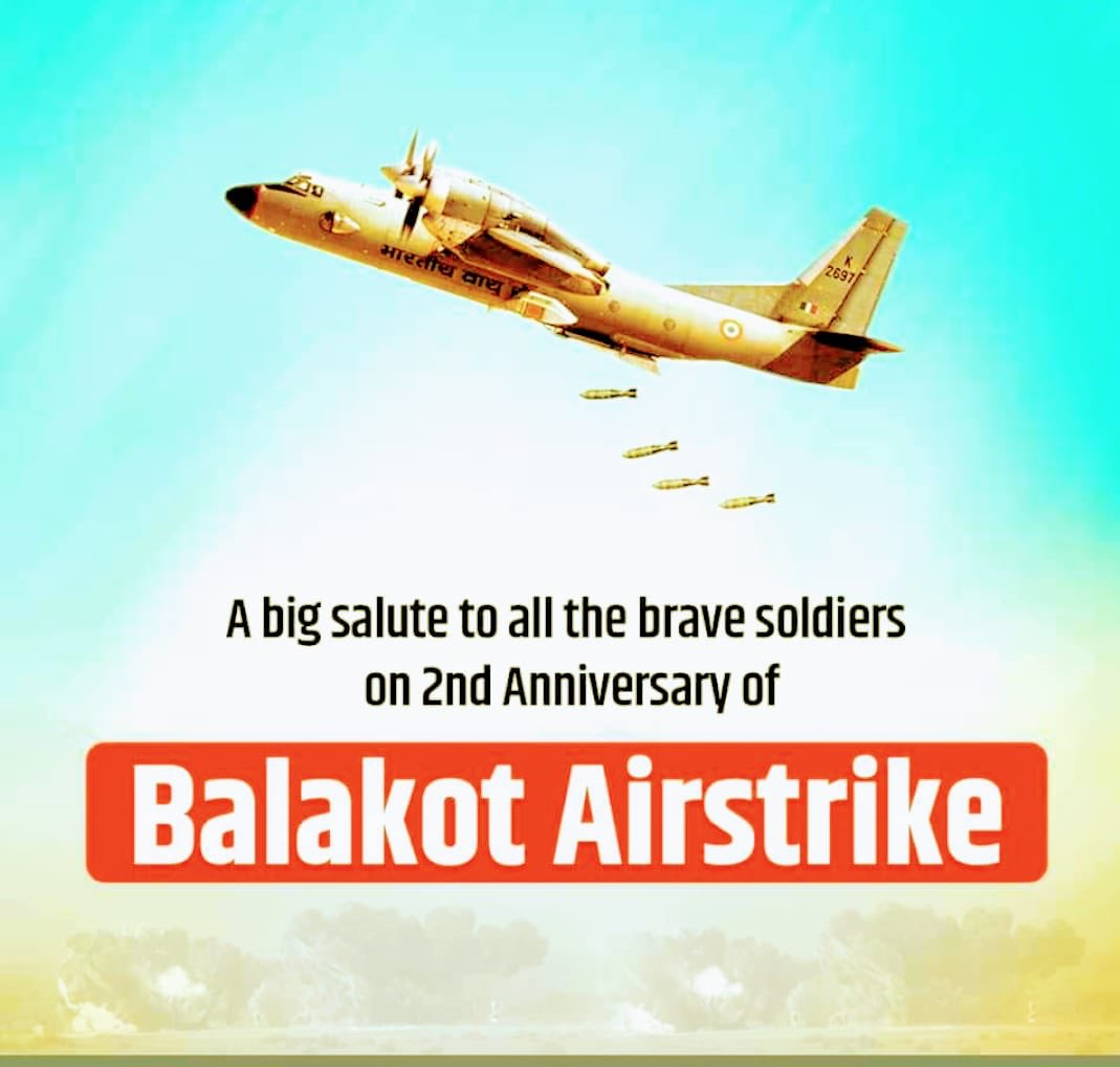 Saluting the brave martyrs of #PulwamaAttack. This is new India, we will not take any act of foreign aggression lying down. #BalakotStrike