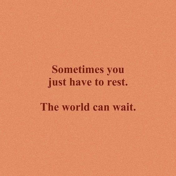 Remember to plan breaks – even if you are holding off for a proper vacation – it is important to rest and re-energise. Just like athletes who build in rest days as part of their training to be their best. We all need this to flourish.  #balance #resilience #mentalhealth