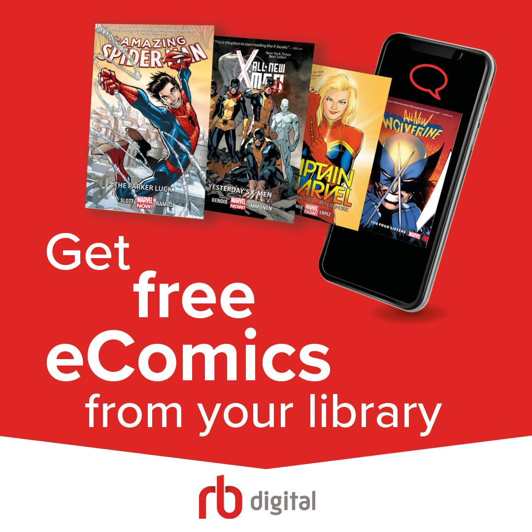 Explore over a 1500 e-comics, available from RBDigital for FREE to Southend Libraries members! From #Muppets to #Manga, #Disney to #Deadpool, you'll find #fantasy for every taste! Click the link from our online catalogue to begin browsing:  #GraphicNovels