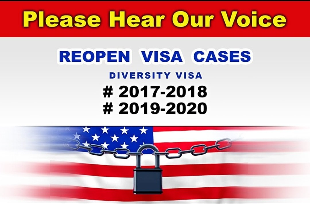 @SecBlinken @ministerBlok PLEASE HEAR OUR VOICE ...we  greencard lottery winners #DV2017 #DV2018 #DV2019 #DV2020 #DV2021 were affected by travel ban for lottery, and it destroyed our dreams and future plans,make our dreams come true. #PP10014 #muslimban  #SaveDiversityVisa @POTUS @VP @Whitehouse @MHackman