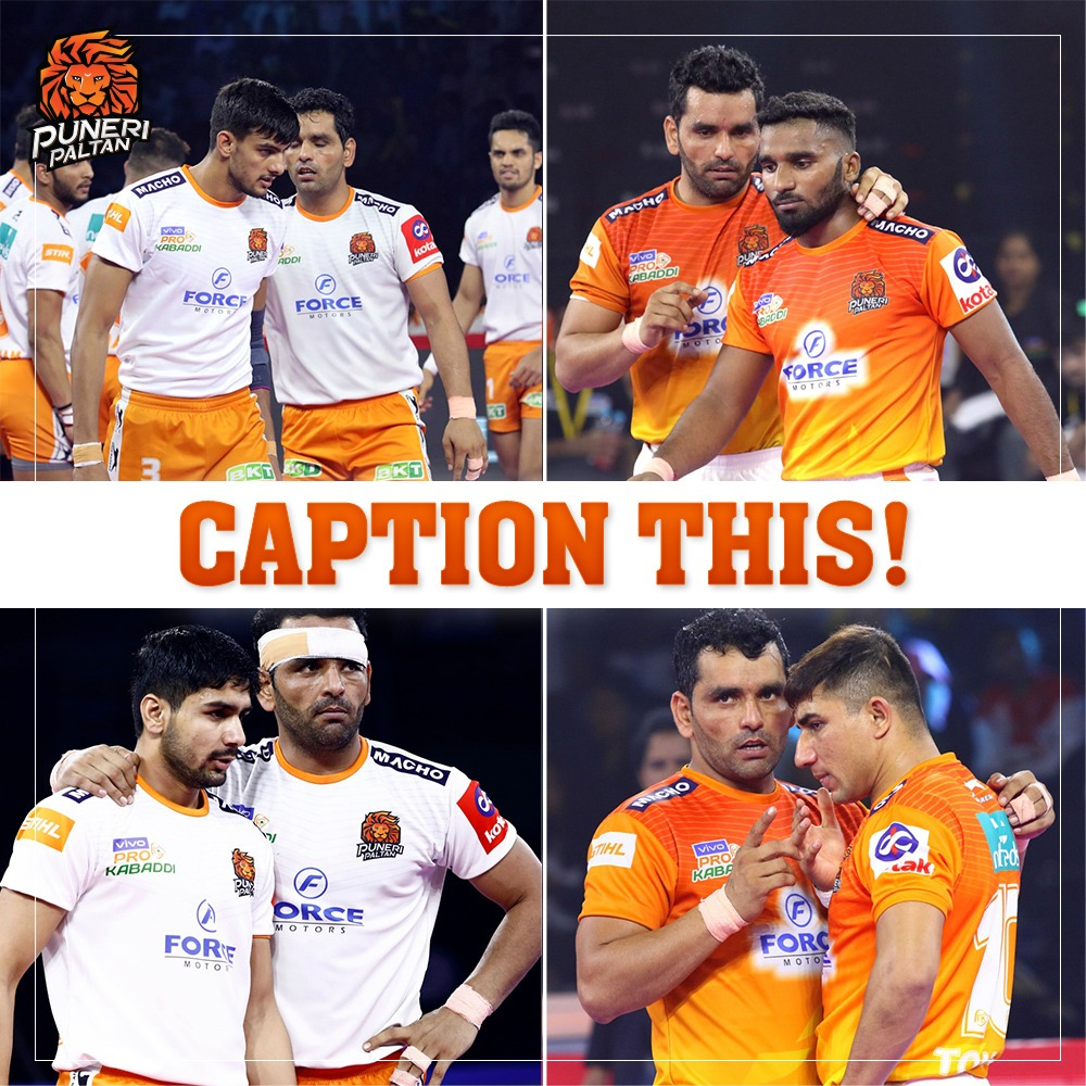 हमारा Caption – Surjeet Singh The Wall Comment your caption 👇 . #PuneriPaltan #BhaariPaltan #GheunTak #Kabaddi #Surjeet #TeamCaptain