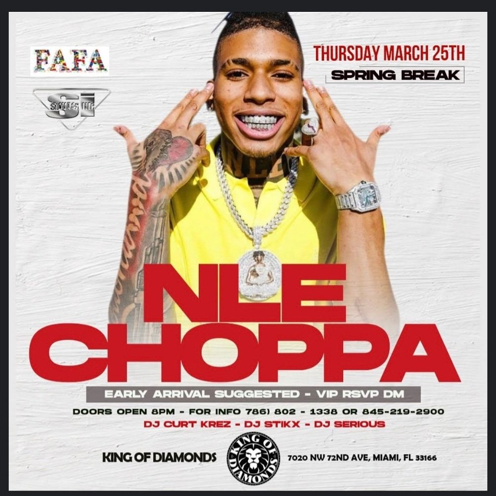 Spring Break Miami its going down yall