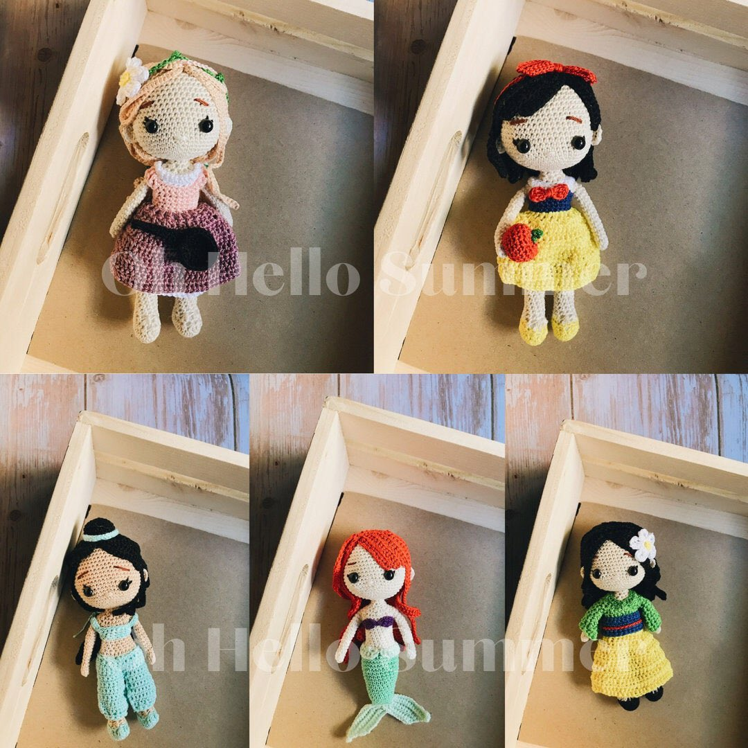 sharing the latest addition to my #etsy shop: 10 #handmade #dolls for kids w free shipping worldwide  #crochet