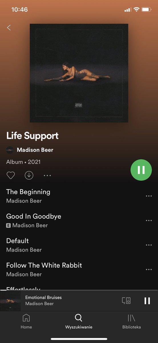 Możemy porozmawiać o tym jakim totalnym sztosem jest ten album #LifeSupport