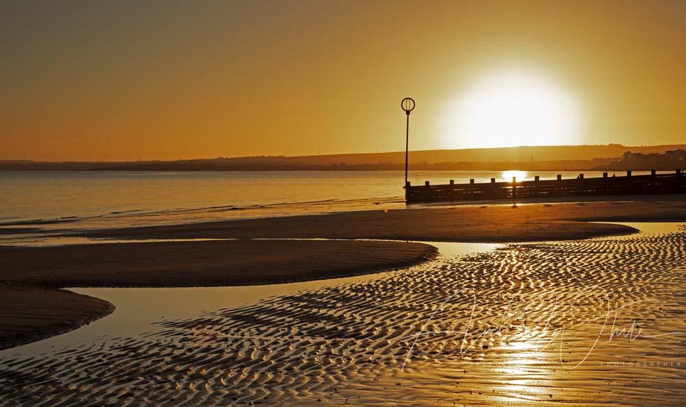 Costa del Portobello sunrise, why go anywhere else? #Edinburgh #Portobello #sunrise #seaside #beach #Scottish