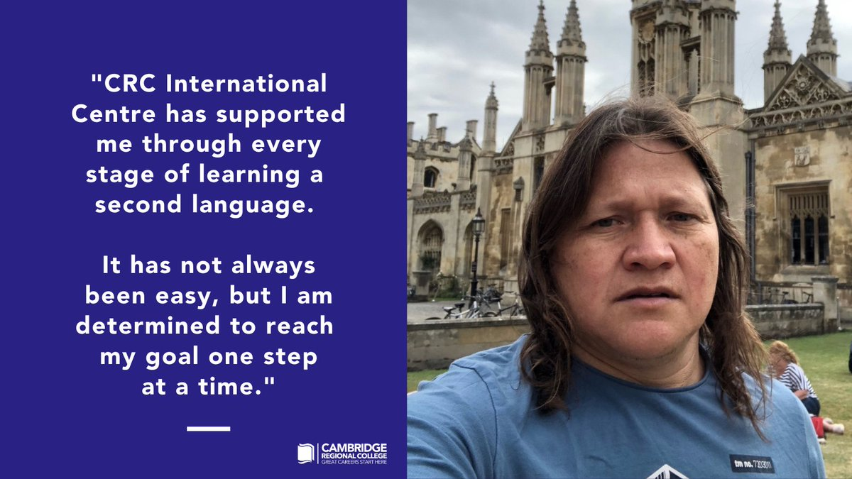 In just 18 months, Faber has gone from not speaking a word of English to passing his Driver CPC Training in England, taking him a step closer to becoming a lorry driver in the UK. Read Faber's story, https://t.co/lSwWzWXG2I  #WeAreCRC #LoveOurColleges #YouMatter https://t.co/de5lIT5VJL