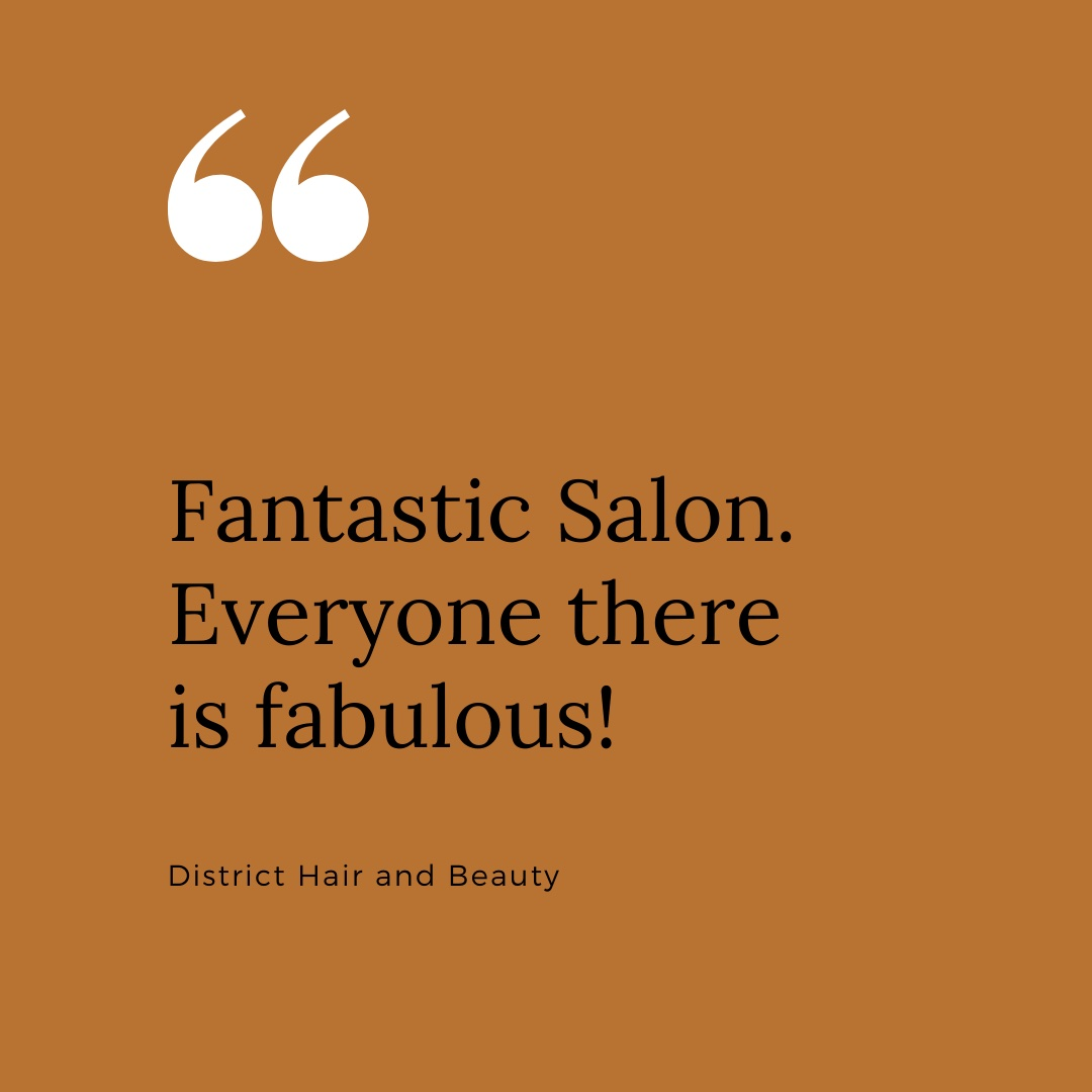 Receiving lovely reviews like this means the world to us. Team District and ALL our clients are truly fabulous 😉🥰  #reviews #salons #hairdresser #altrincham #hale #bowdon #cheshire #altrinchamlife #halelife #cheshirelife #nails #fridayfeeling