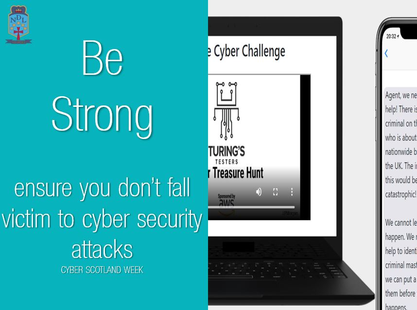 Today is the last day of our #SaferInternetMonth, and ties in with #CyberScotlandWeek Click the link below to see if you can stop the Cyber Criminal.  #bestrong #teach #SID2021 #SaferInternetDay #AnInternetweTrust @UK_SIC @AntiBullyingPro @turingstesters