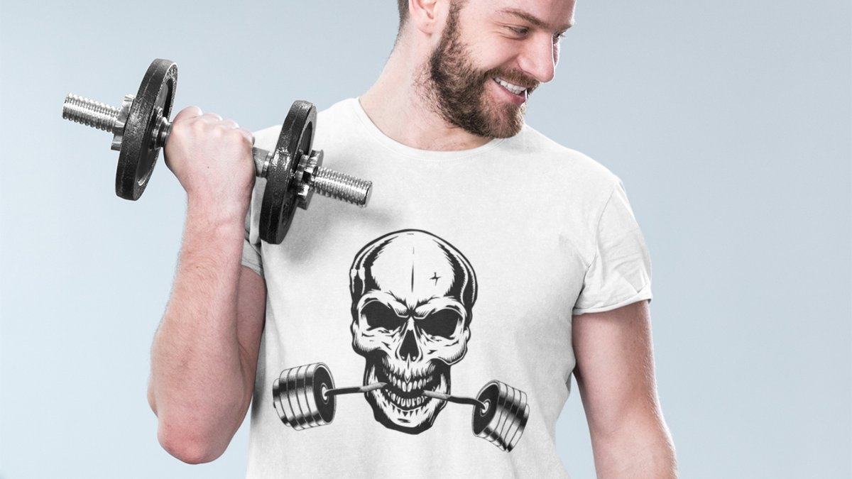 Are you ready for a #workout? )  This design is on #sale now: 15% off. #fitness #wellness #gym #tshirts #sales