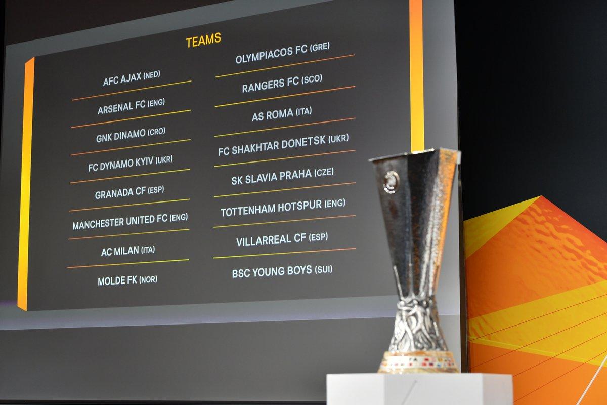 ¡Arranca el sorteo de los octavos de final de la Europa League!  ¡Aquí tienes streaming y cobertura en directo!  📺 https://t.co/Bd08ElQg4O  #UEL | #UELdraw https://t.co/L1JrViBEke