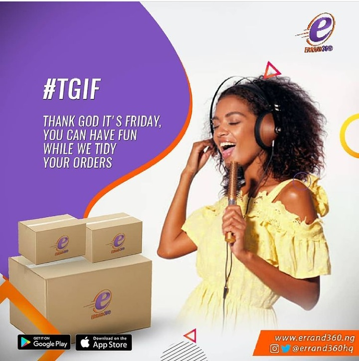 TGIF goals! 💯  👏 we launch this month 👏  #ContactUs  . .  #errand360 #riders #deliver #giveaway #logisticscompanyinlekki  #lagosbusiness  #friday #groceryshopping #fridayvibes #logisticscompany #logisticshub #sendus #hustle