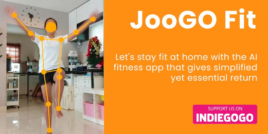 JooGO Fit: Realtime AI Calorie Burn Calculator  #indiegogo #weightloss #fitness #diet #healthy #nutrition #gym #healthyfood #protein #weightlossmotivation