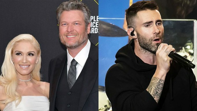 Blake Shelton wants Adam Levine to perform at his and Gwen Stefanis wedding: I want it to cost him Photo