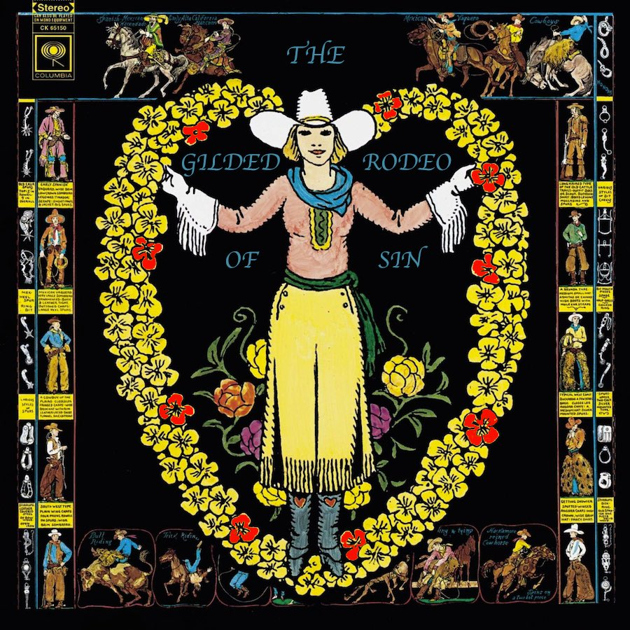 """New #spotify #playlist """"The Gilded Rodeo of Sin"""" #thebyrds #gramparsons & beyond. Some of these incredible #vinyl albums and more available now @  #vinyl #galway #ireland"""