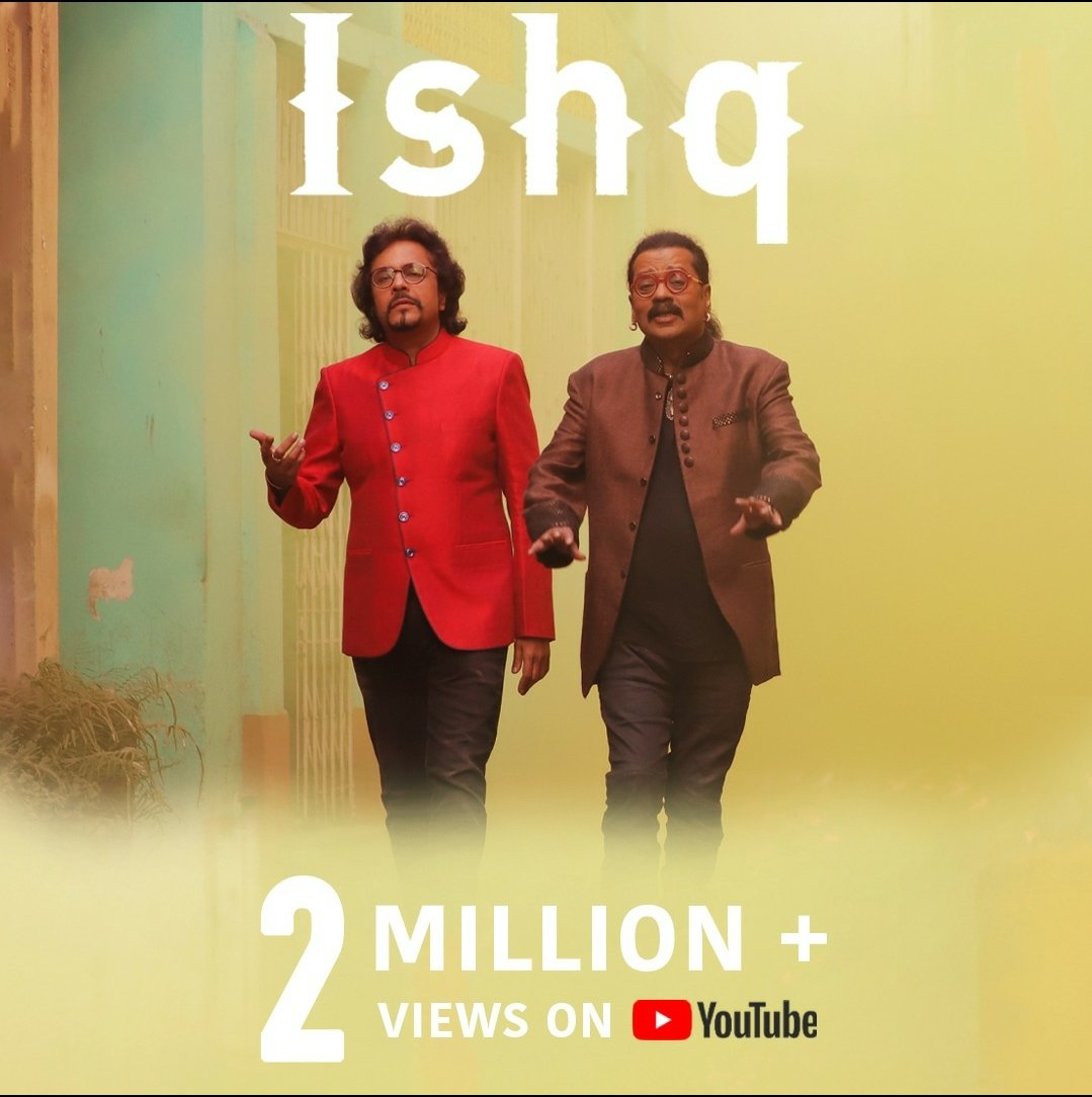 Thank you for the overwhelming response! Have you seen it yet ? #IshqKeGeet   Youtube Link: