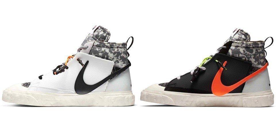 Back-Door online raffle live for the Nike x ReadyMade Blazer Mid (CZ3589-001 + CZ3589-100)