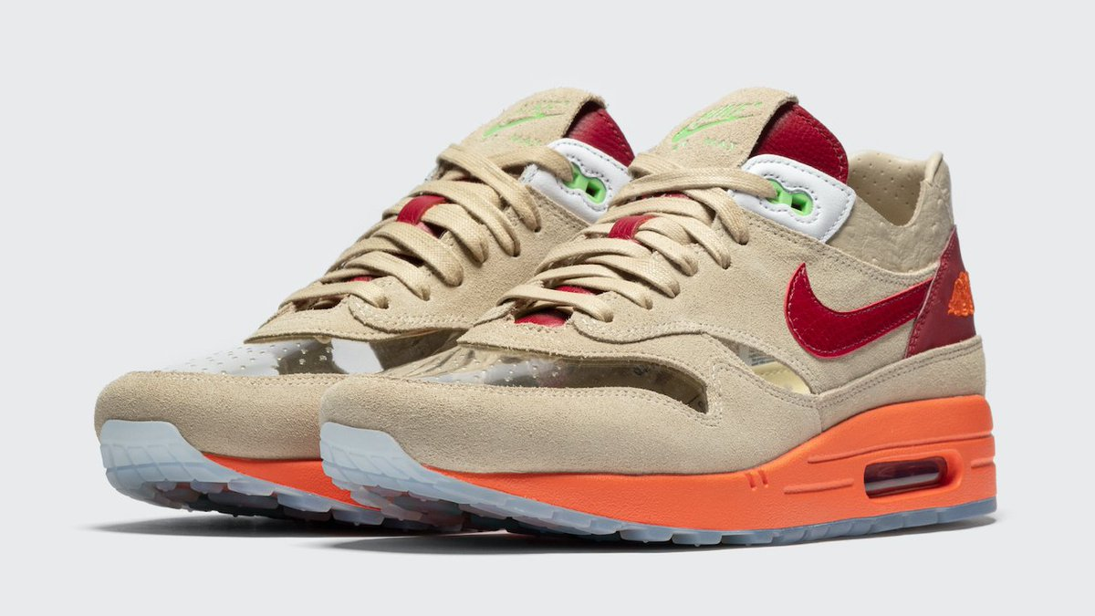 BSTN online raffle live for the Clot x Nike Air Max 1