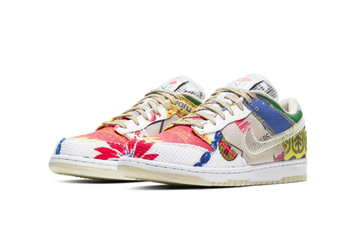 Afew online raffle live for the Nike Dunk Low SP
