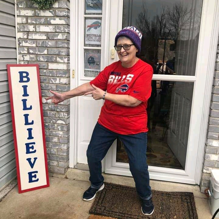 My grandma also top bills fan #BuffaloBills #billsmafia #billsnation #afcchampionship #NHL #NFL #bills #johnallen #Twitter #twitterbills
