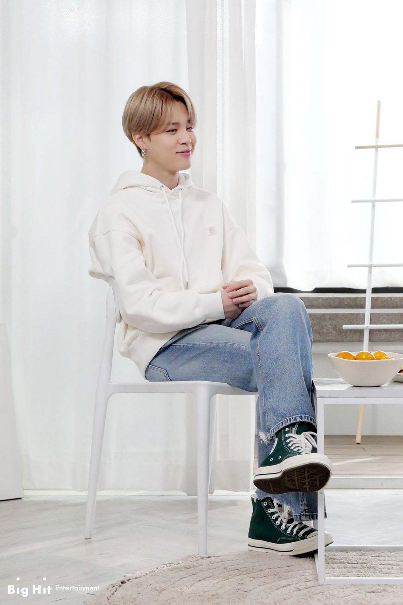 BTS BE 'BE-hind Story Interview'   His smile make us happy 😊  #JIMIN #WeLoveYouJimin #Parkjimin #ThankYouJimin #지민